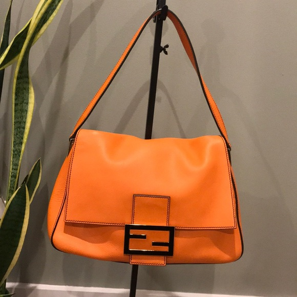 66ab4abda469 Fendi Handbags - Fendi Forever Radica Large Mama Bag